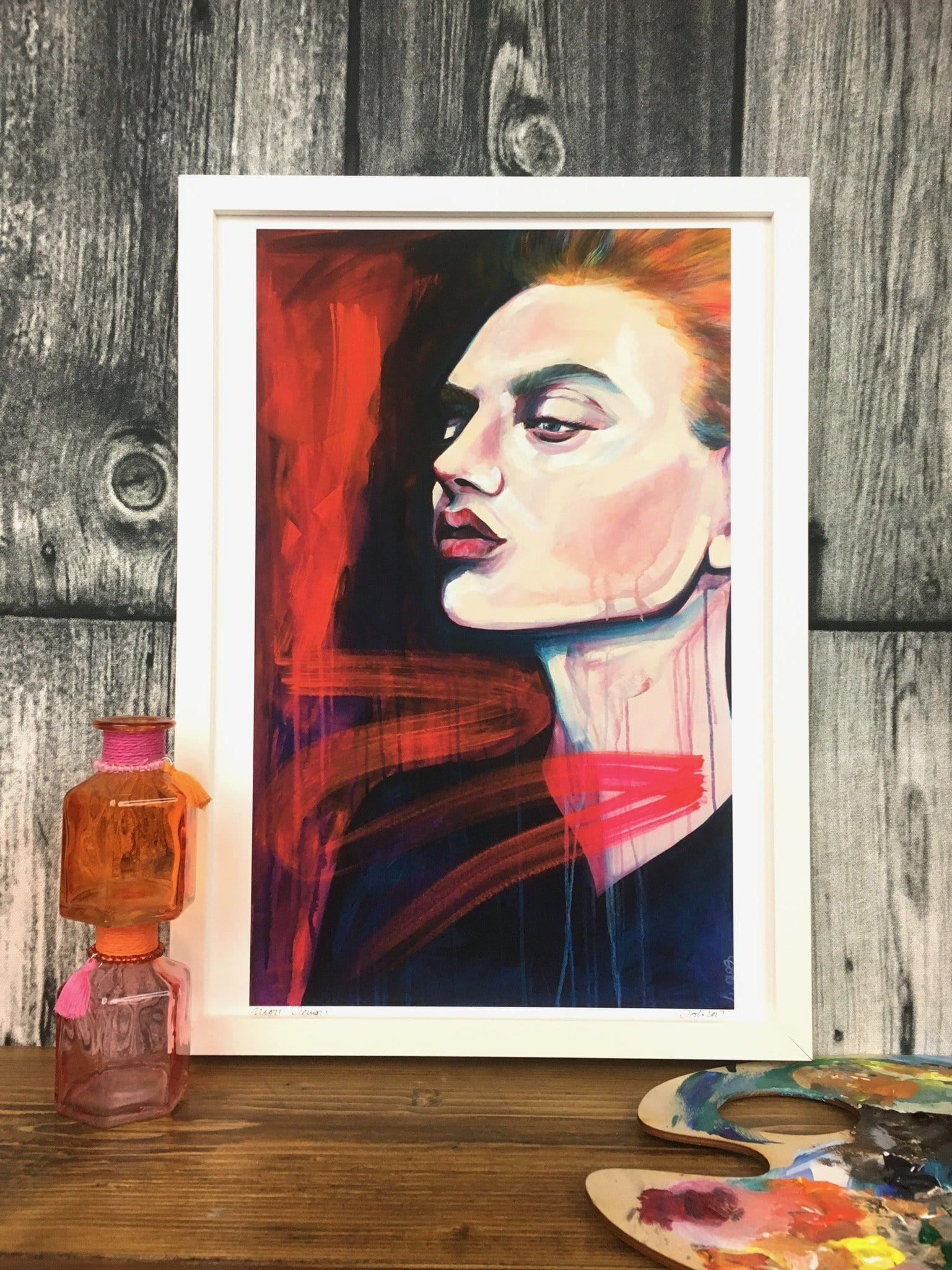 Neon Demon Giclée Art Print