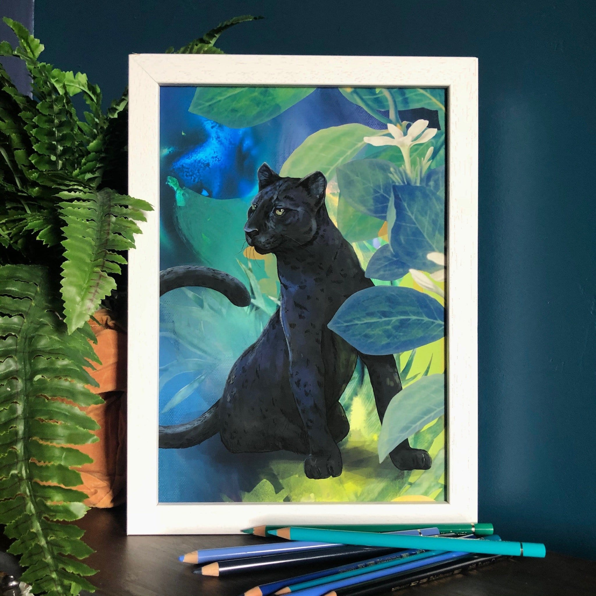 Midnight Prowl Giclée Art Print