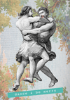 Dance & Be Merry Greeting Card