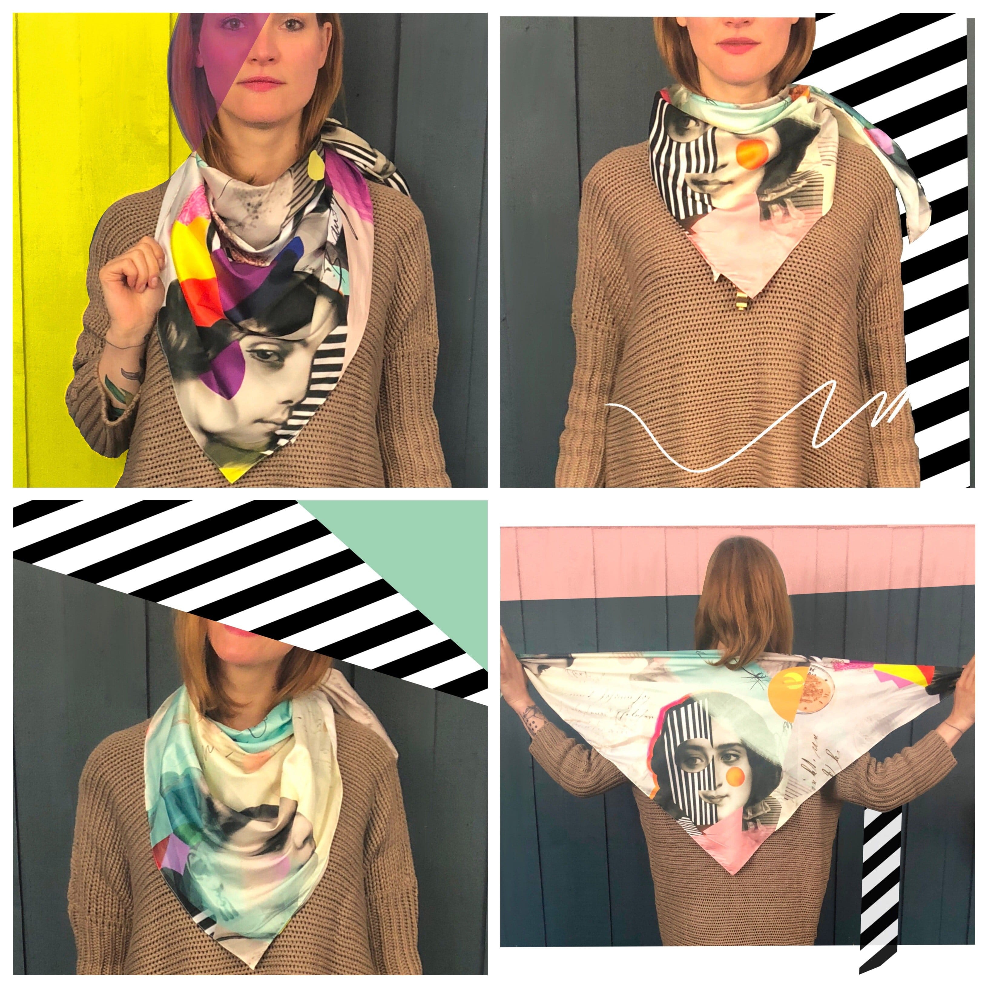 The Three Graces Scarf