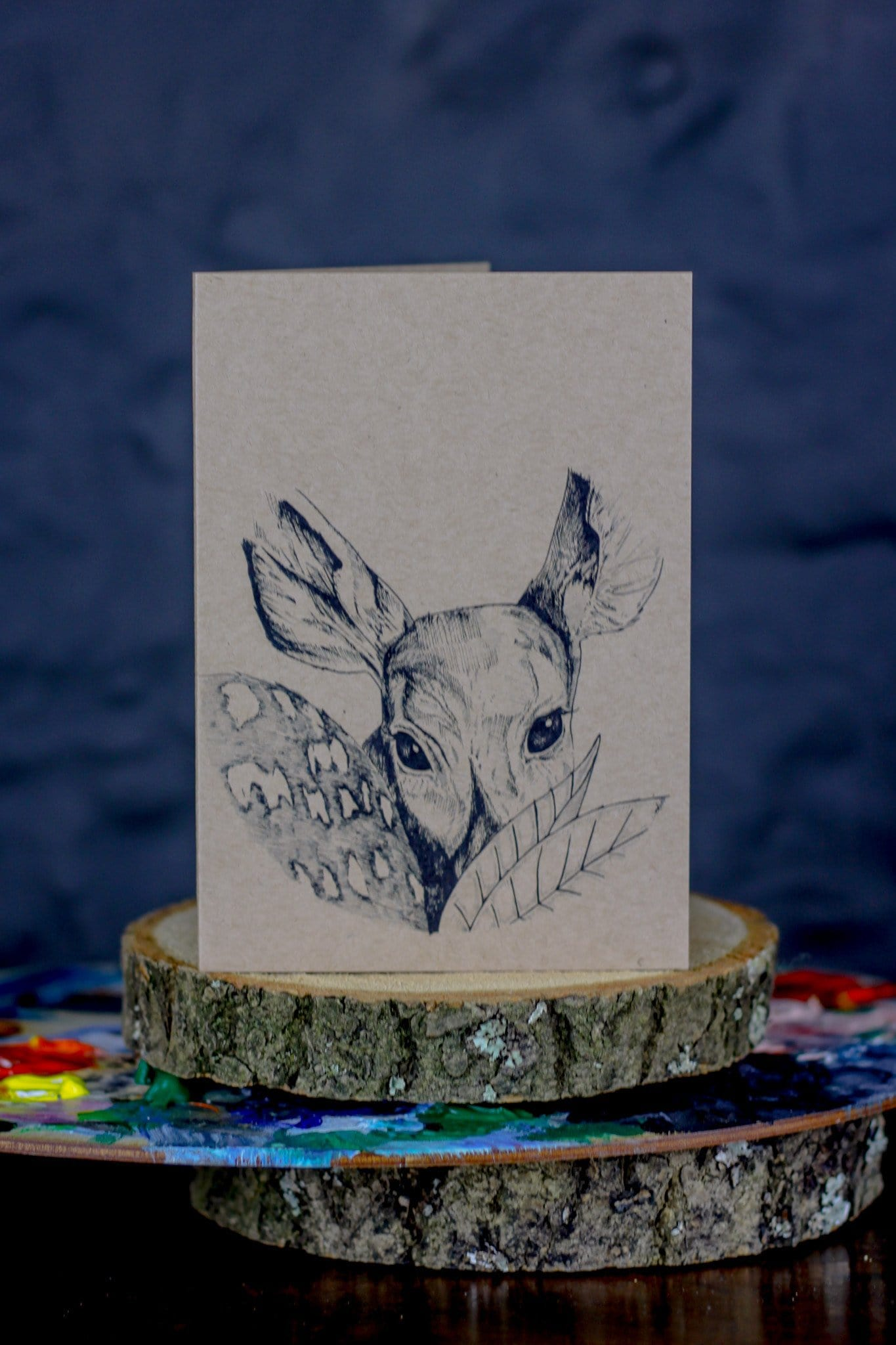 Foxy Fawn Greeting Card