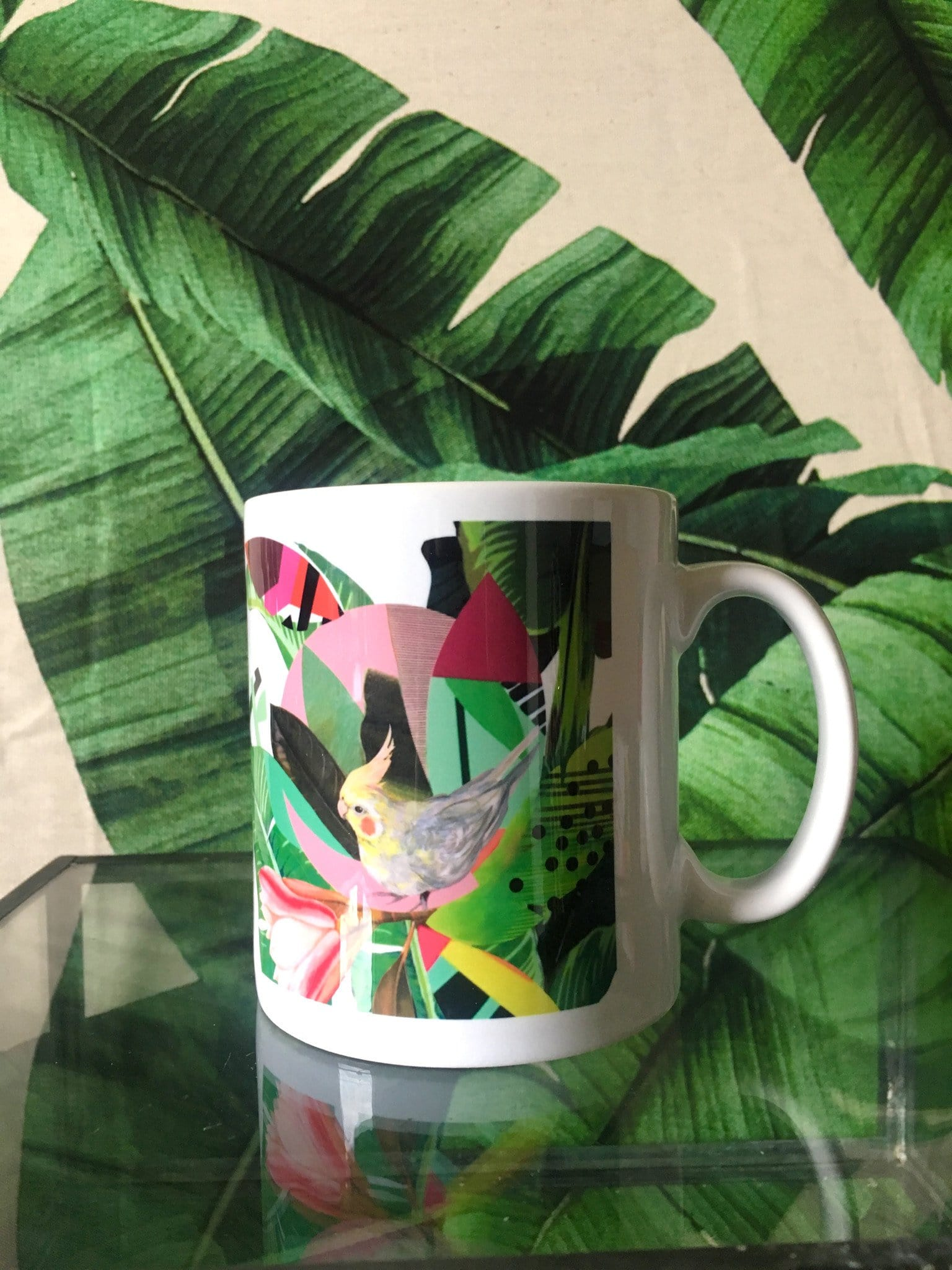Tropical Foliage Mug (boxed)