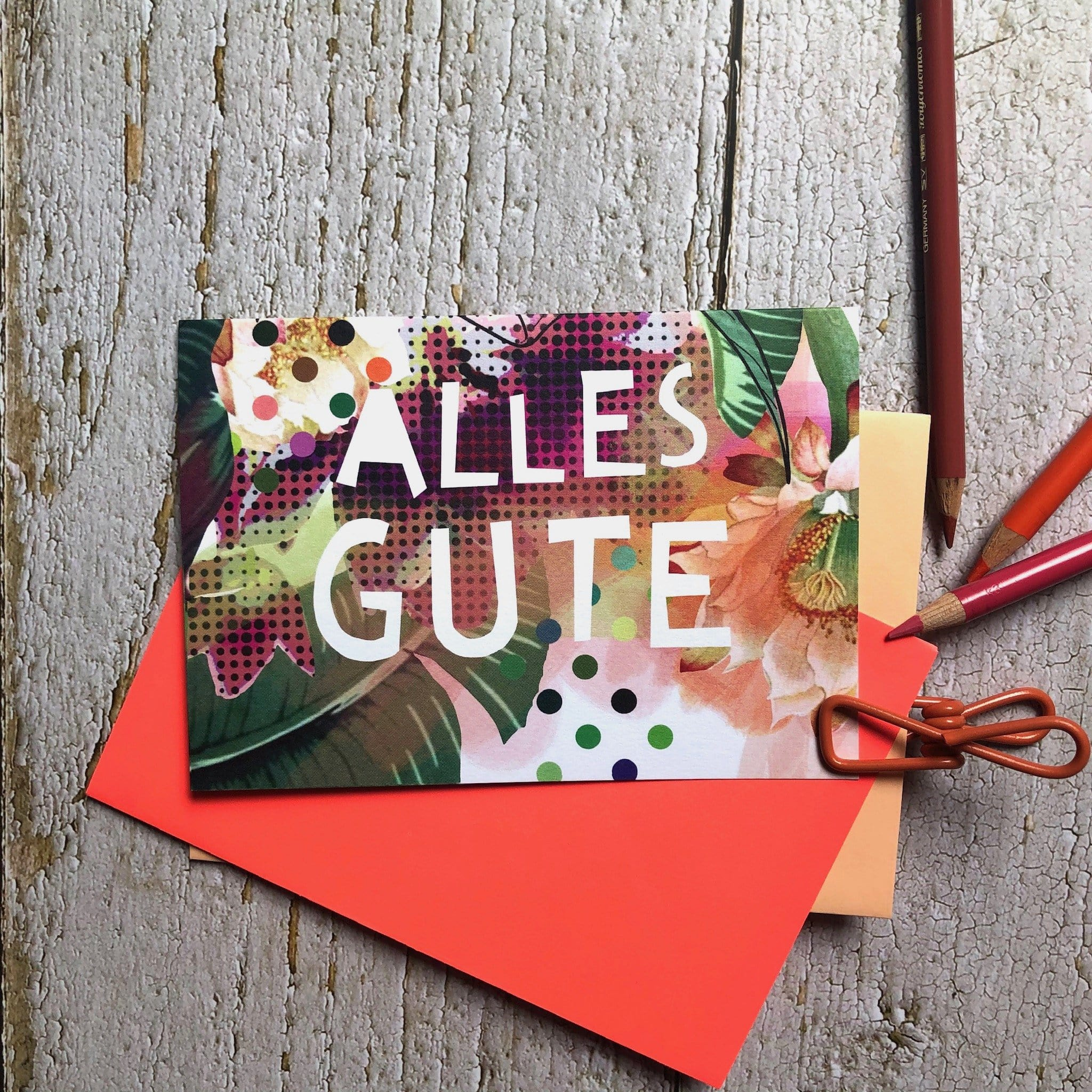 Alles Gute Greeting Card