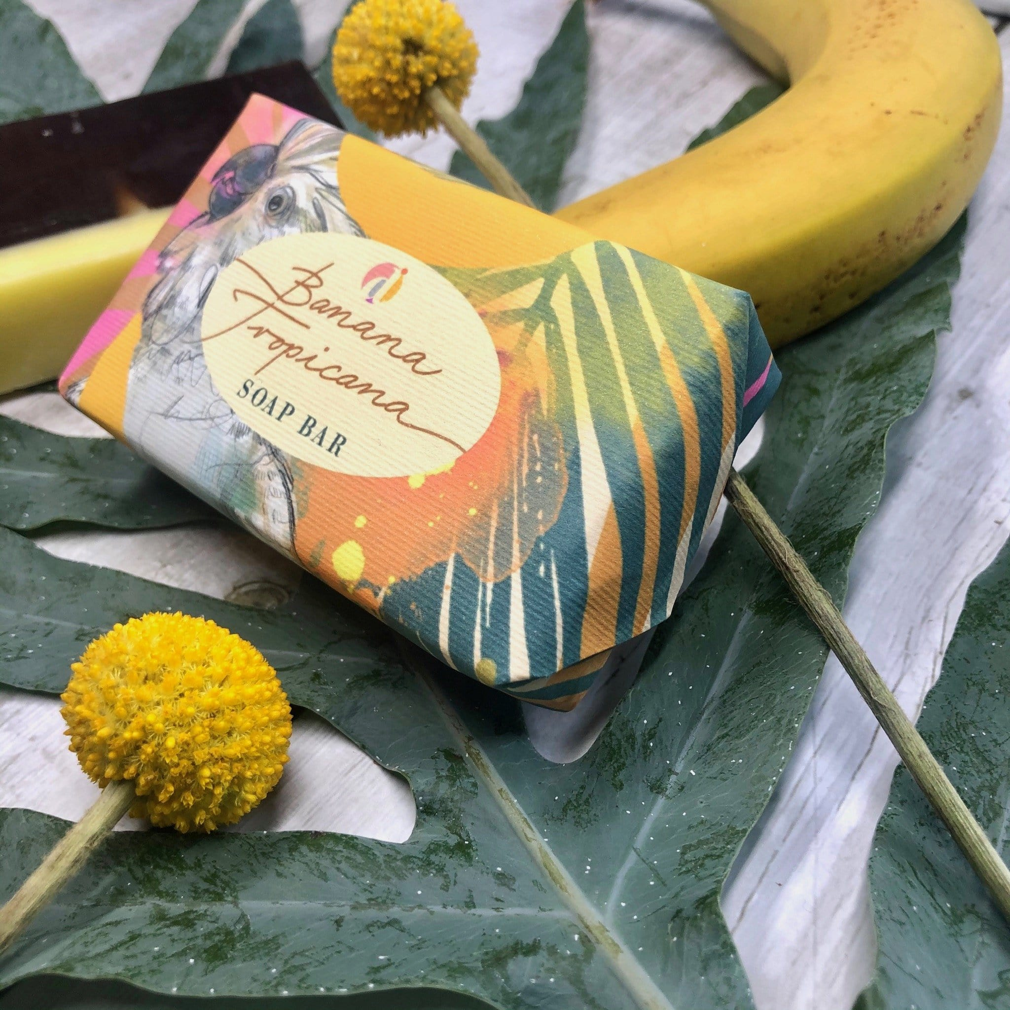 Banana Tropicana Soap Bar
