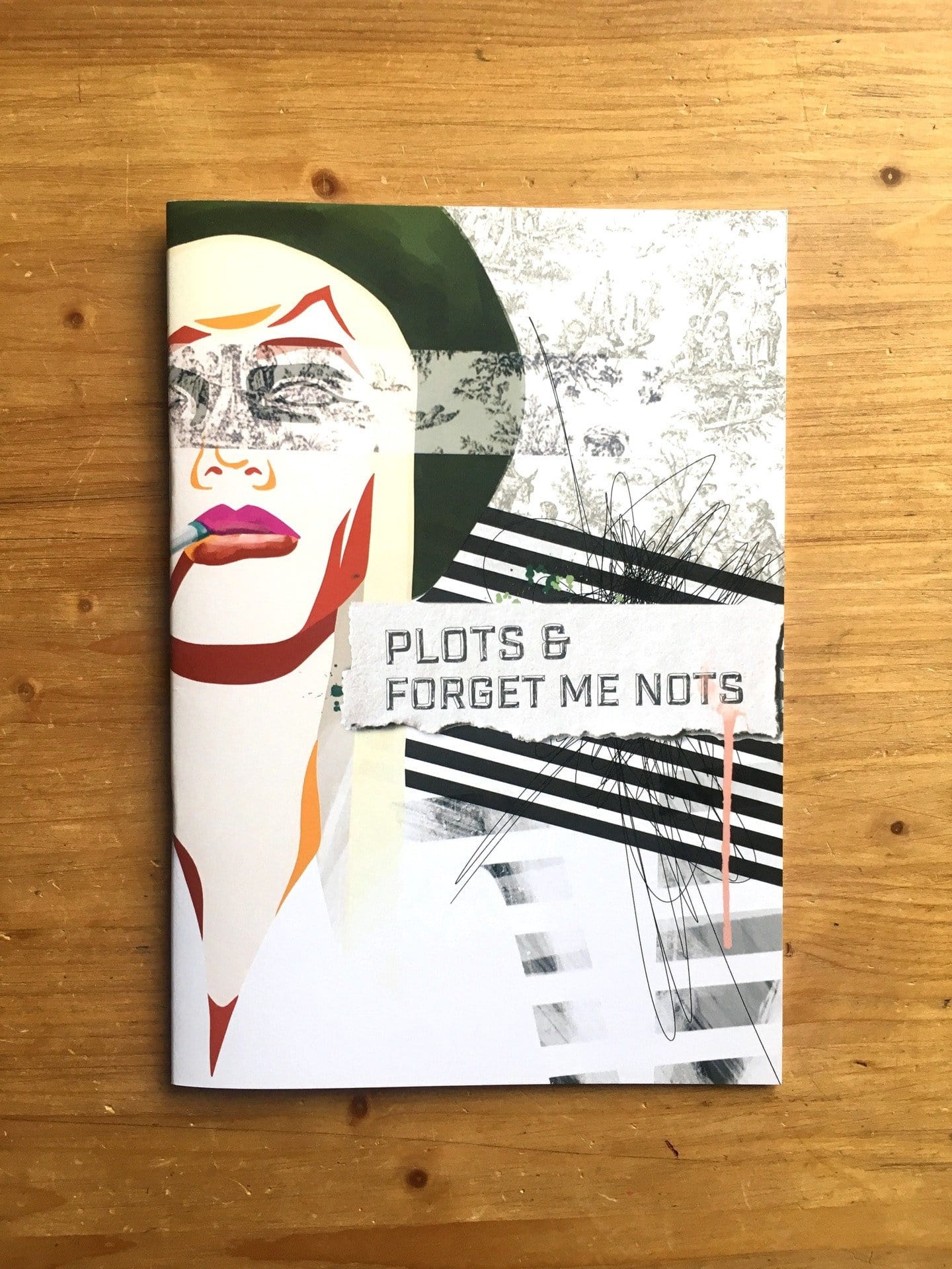 Plots & Forget-me-nots Notebook - Fashion