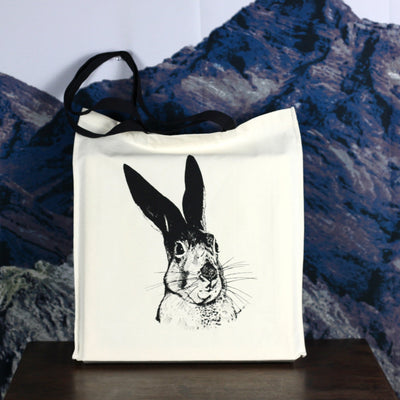 Skeptical Hare Canvas Bag - Bag by diedododa - 1