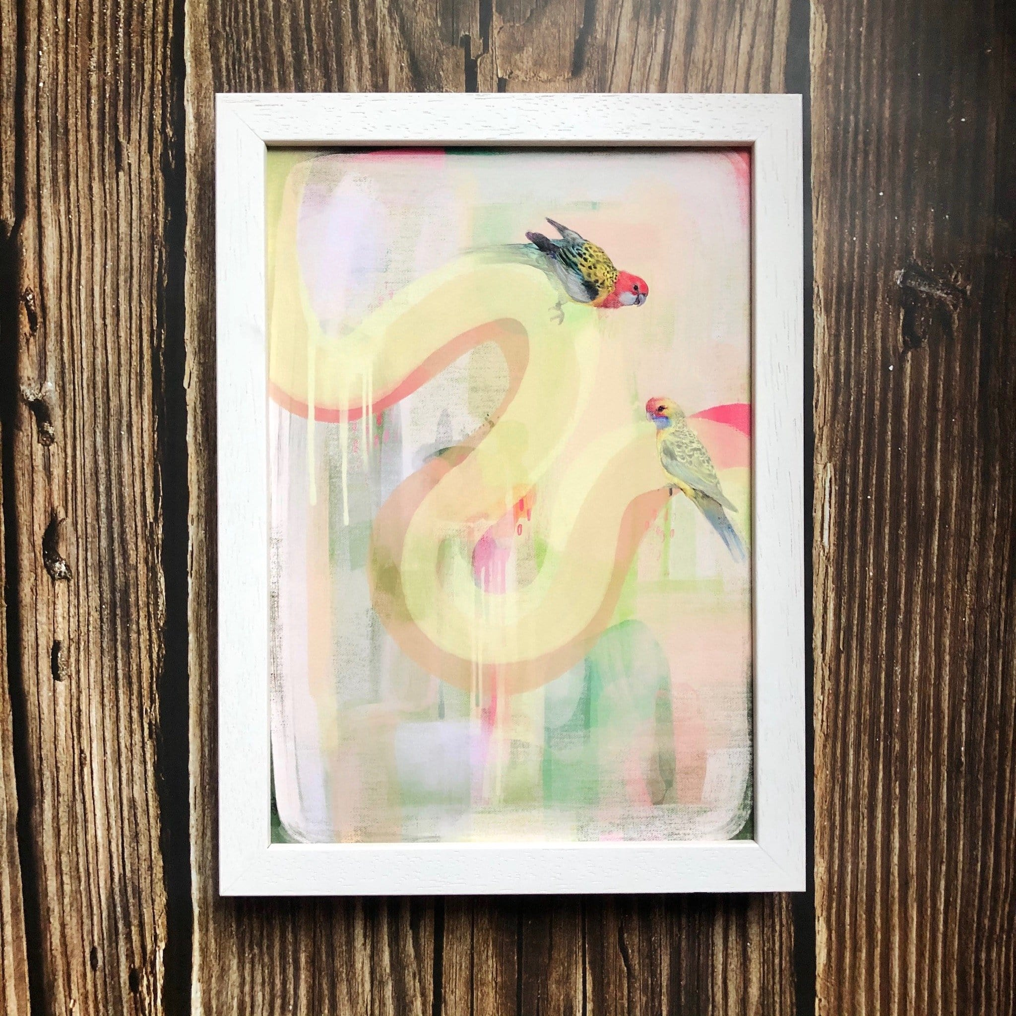 Spring Encounters Giclée Art Print
