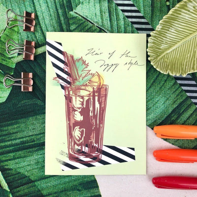 Bloody Mary Greeting Card