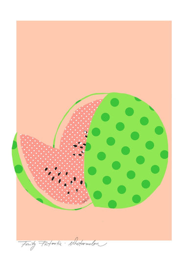Watermelon Matte Art Print