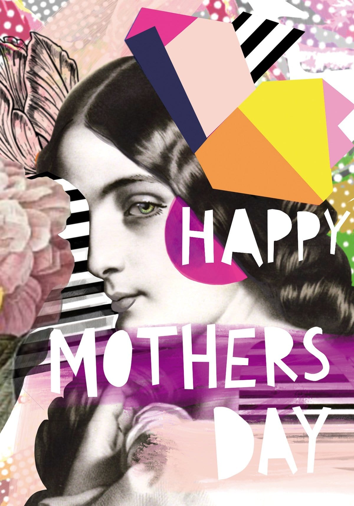 Motley Blooms - Mothers Day Greeting Card