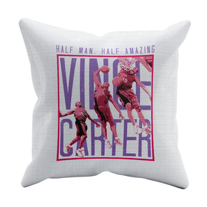 Vince Carter Throw Pillow | 500 LEVEL