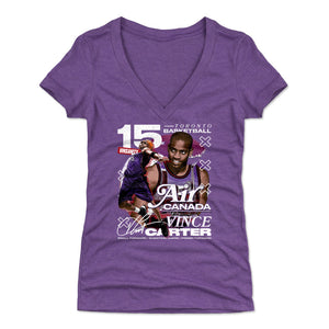 Vince Carter Women's V-Neck T-Shirt | 500 LEVEL