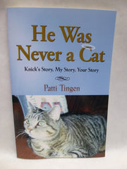 Book Devotional He was Never a Cat by Patty Tingen