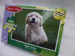 Golden Retriever Puzzle for children