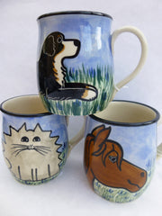 Dog and cat mugs