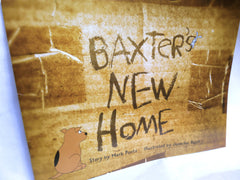 Book Children's Baxter's New Home By Mark Pontz