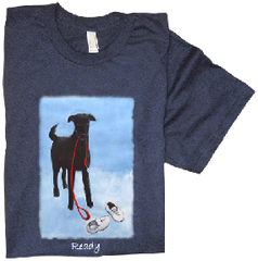 Shirt Labrador walking