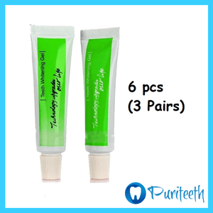 Puriteeth Teeth Whitening GEL™ 6pcs (3 pairs)