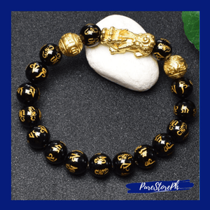 Feng Shui Black Obsidian Wealth Bracelet™