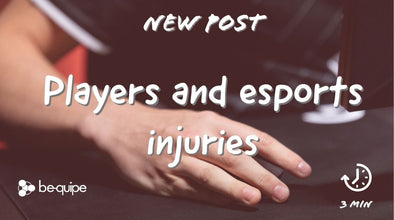 Players and esports injuries