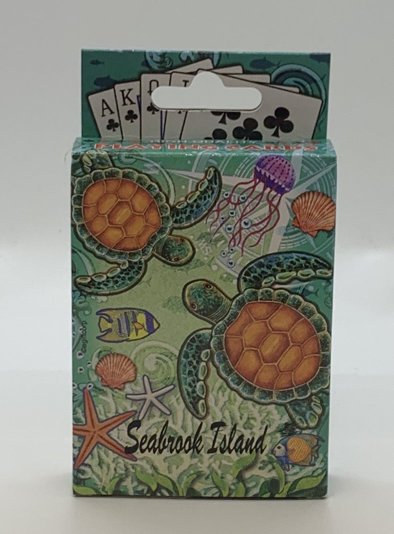 SI Sea Turtle Playing Cards