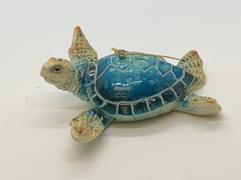 Turtle Resin Ornament