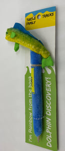 Rainbow Dolphinfish Plush Pen