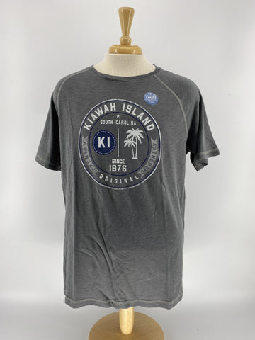 KI Men's Bamboo Tee - Palm Patch Up