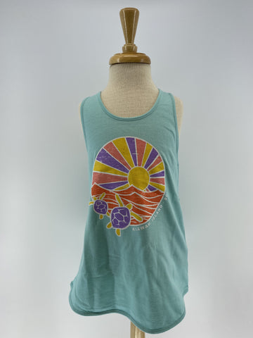 KI Girls Cotton Tank - Rays Turtle