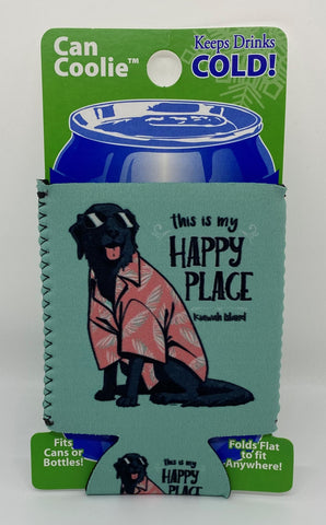 KI Happy Beach Dog Can Cooler