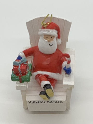 KI Santa in Adirondack Chair
