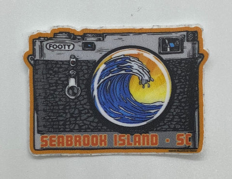 SI Vintage Camera Mini Sticker