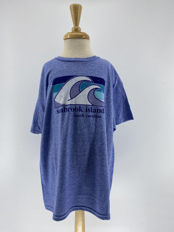 SI Youth Snow Tee - Trek Wave