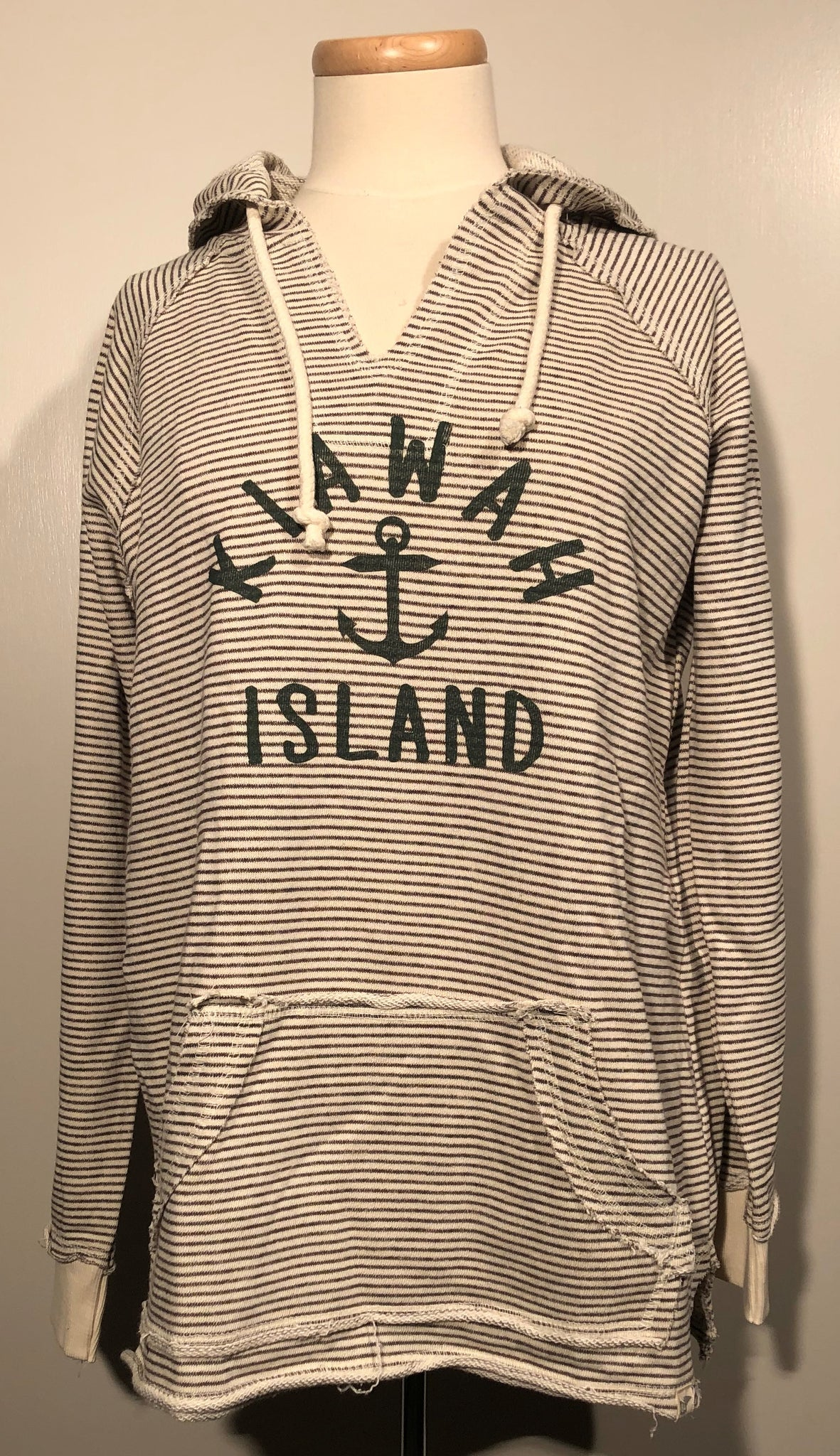 KI Ladies Stripe French Terry - Baffled Anchor