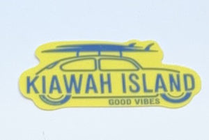 KI Days off Surfboard Decal