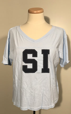 SI Frankie Football Tee - Time
