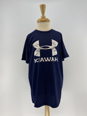 KI Youth SS Tech Tee - Navy