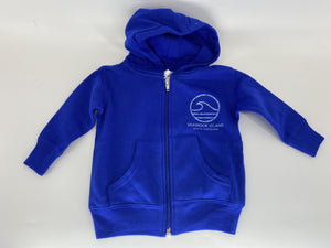 SI Infant Zip Hood - Vibes Wave Royal