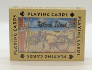 KI Beach Bike Playing Cards