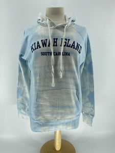KI Tie Dye Fleece Hood - Count on Me Font