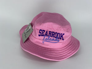 SI Youth Bucket Hat - Pink