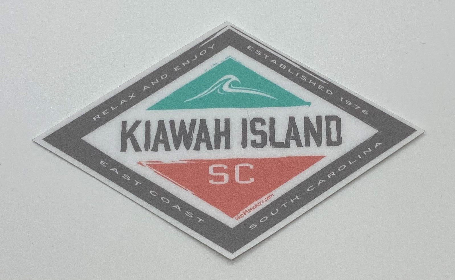 KI Decal - Reef Knot Bright Wave