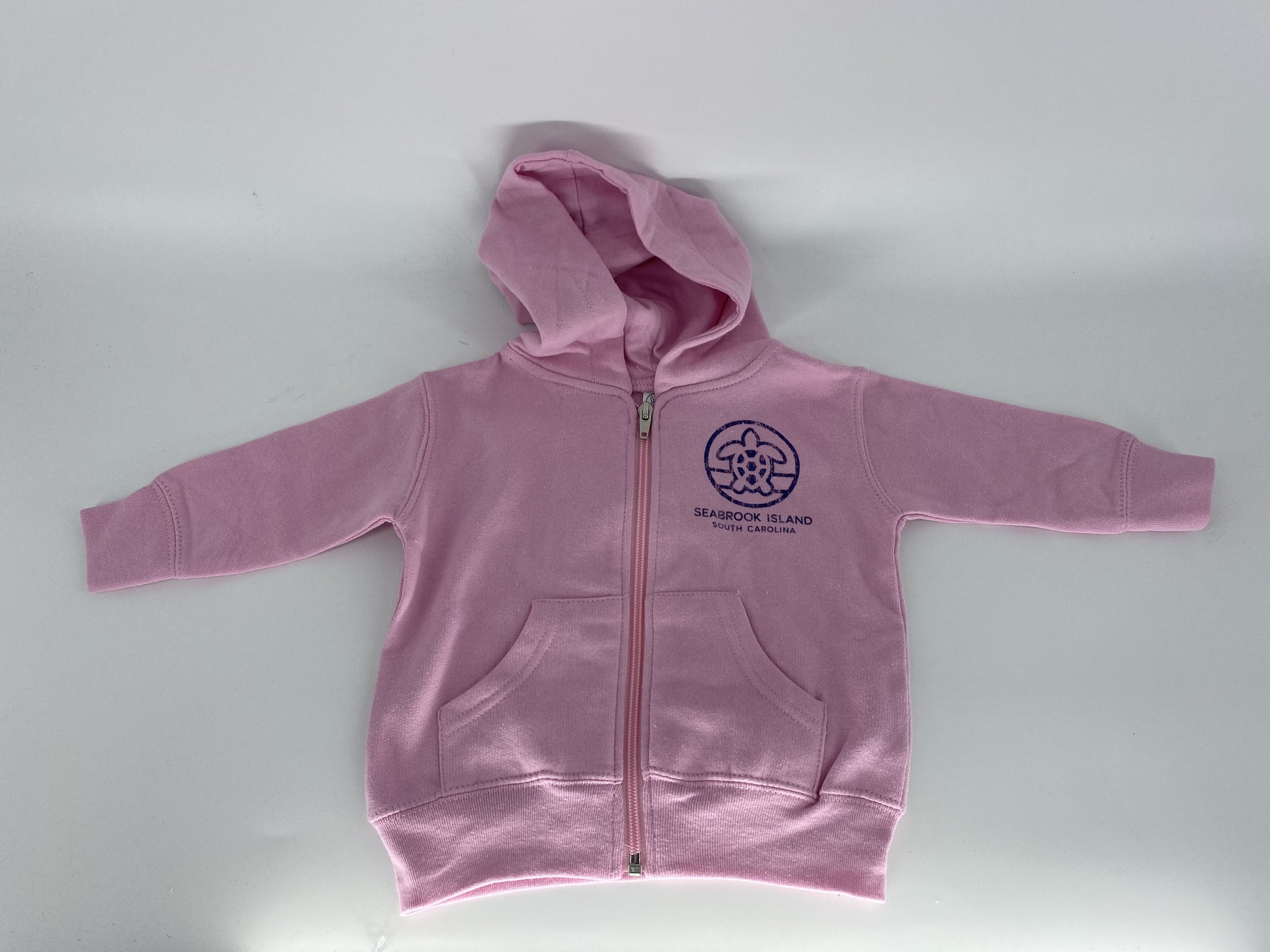 SI Infant Zip Hood - Vibes Turtle Pink