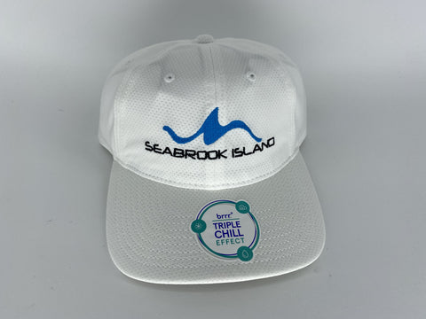 SI Brr Performance Hat - White