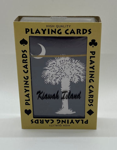 KI Palm Moon Playing Cards