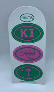 KI Triple Decker Sticker