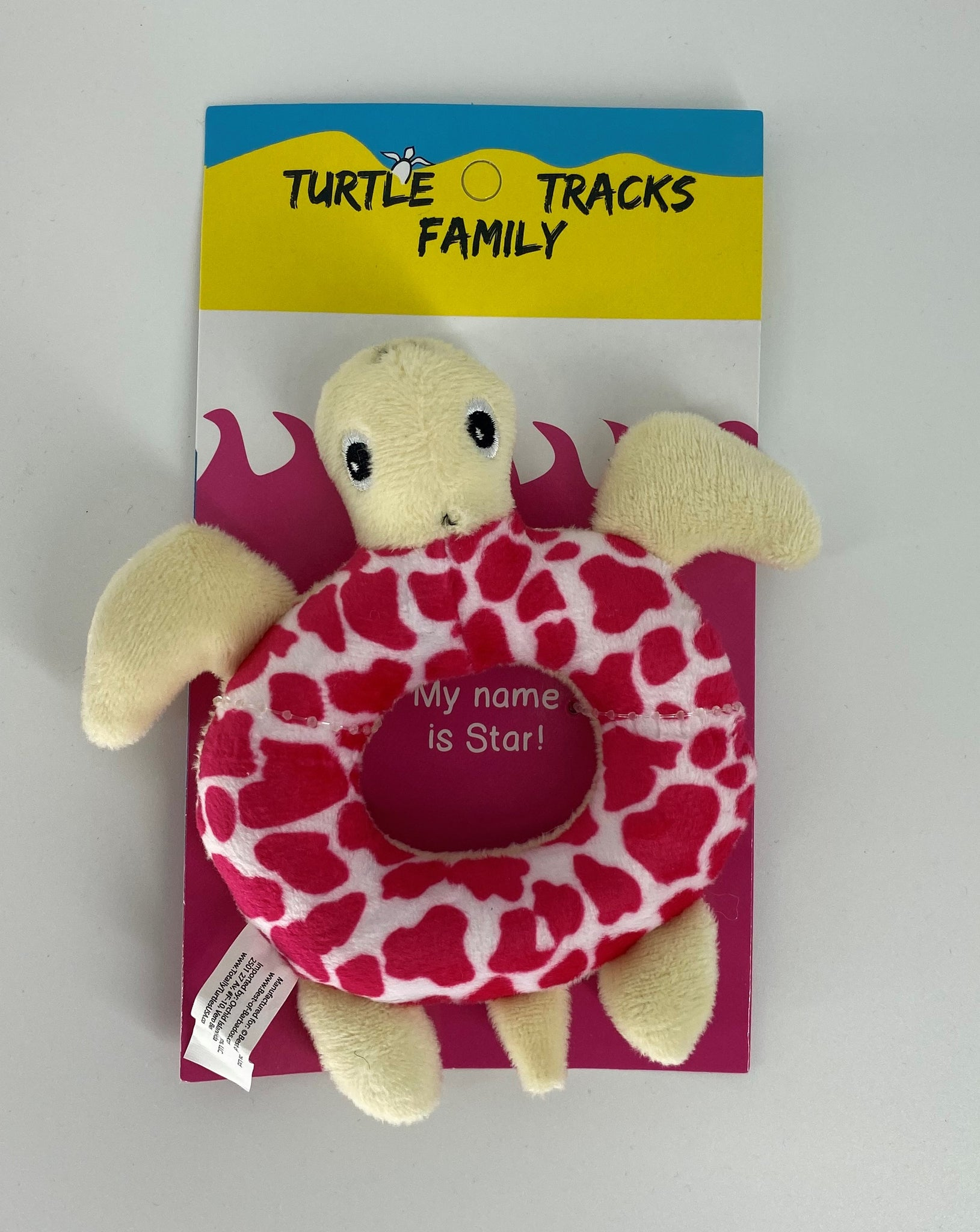 Pk Turtle Star Rattle