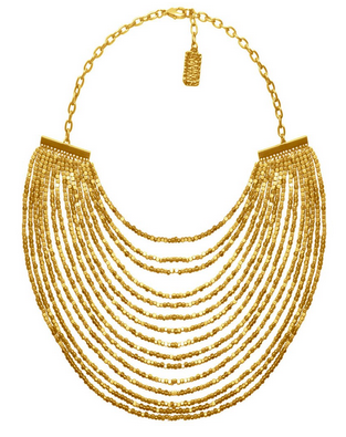 Joan Multistrand Statement Necklace