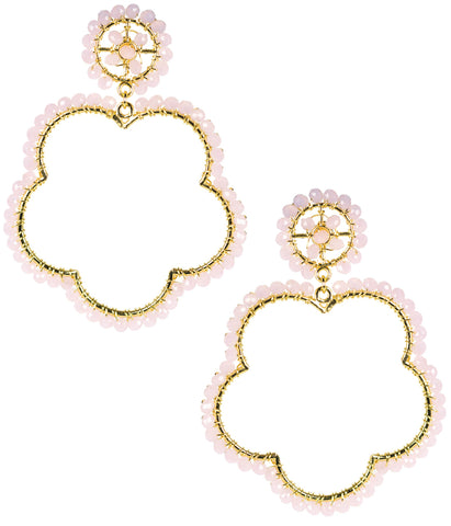 Bobbi Earrings- Cotton Candy