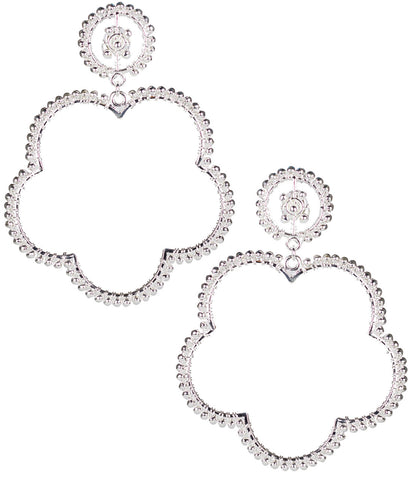 Bobbi Earrings- Silver